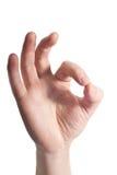 знак языка Стоковое фото RF