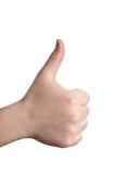знак языка Стоковые Изображения RF