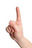 знак языка Стоковое Изображение RF