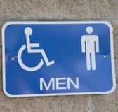 Знак для уборного людей Стоковое Фото