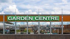 Знак для graden центр Стоковые Изображения