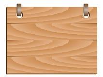 знак деревянный Стоковое Изображение