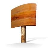 знак деревянный Стоковые Фото