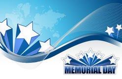 Знак Дня памяти погибших в войнах США Стоковые Изображения