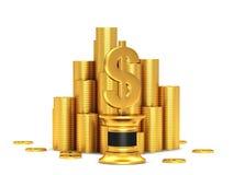 Знак доллара Стоковые Фотографии RF