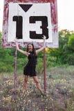 Знак 13 рек Стоковое Фото