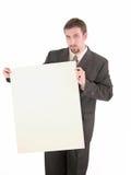 Знак 2 бизнесмена Стоковые Фотографии RF