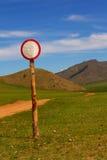 Знак стоковая фотография