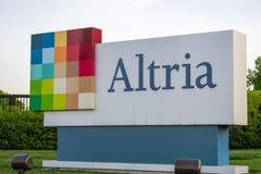 Знак Altria стоковые изображения