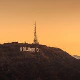 знак angeles hollywood los Стоковая Фотография