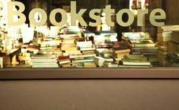 знак bookstore Стоковая Фотография