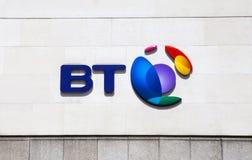Знак BT Стоковое Изображение