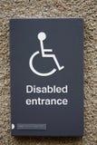 знак disable Стоковые Фотографии RF