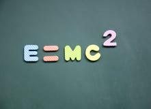 знак e mc2 стоковые фотографии rf