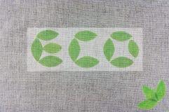 знак eco Стоковая Фотография RF