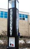 знак emergncy стоковые изображения rf