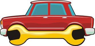 знак fix автомобиля Стоковое Фото