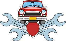 знак fix автомобиля Стоковые Изображения RF