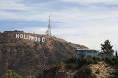 знак hollywood Стоковая Фотография RF