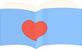 Знак i любит прочитанная книга Стоковое Изображение
