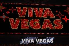 Знак II Las Vegas Стоковое Изображение RF