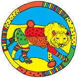 знак leo horoscope Стоковые Изображения RF