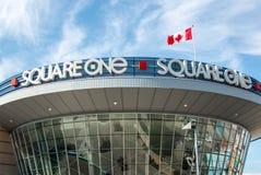 Знак Mississauga торгового центра квадрата одного Стоковое фото RF