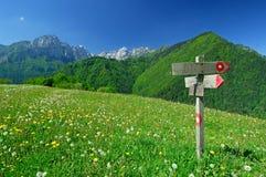 знак mountaineering Стоковые Изображения