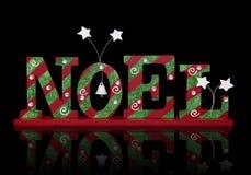 знак noel рождества стоковое изображение