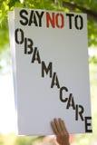 знак obama внимательности Стоковое Изображение RF
