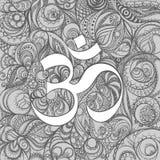 Знак Omkara Стоковое Изображение