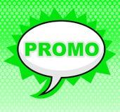 Знак Promo представляет скидки зазора и дешево иллюстрация штока