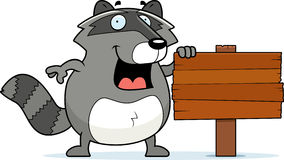 знак raccoon Стоковые Изображения