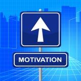 Знак Represents мотивировки делает его теперь и действует бесплатная иллюстрация