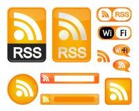 знак rss Стоковые Изображения