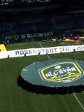 Знак AT&T MLS блестящий на поле Стоковые Изображения