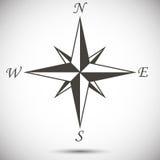 Знак Windrose Стоковые Изображения