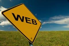 знак www стоковая фотография