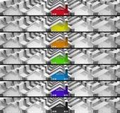 Знамена ищут соответствующее снабжение жилищем Стоковые Фото