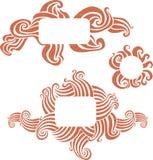 знамена мягкие Стоковые Фото