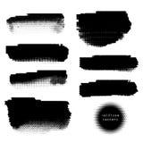 Знамена полутонового изображения Grunge Стоковые Фотографии RF