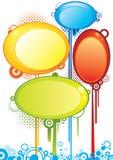 Знамена пузыря Стоковая Фотография