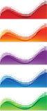 Знамена сети Стоковое Изображение RF