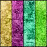 Знамена установленные текстуры grunge Стоковое фото RF