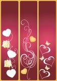 знамена декоративные Стоковая Фотография