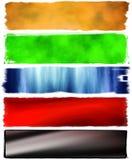 знамена Стоковые Фото