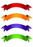 знамена Стоковое Изображение RF