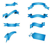 знамена Стоковая Фотография RF
