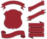 знамена Стоковые Фотографии RF