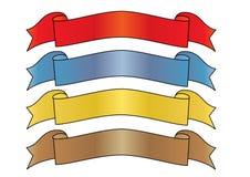 знамена Стоковое Изображение